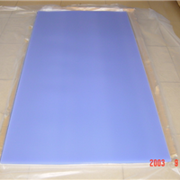 供应2.0透明双面贴膜PVC板 PVC贴膜厚板