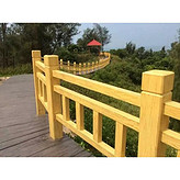 供应水泥仿木护栏水泥仿石护栏水泥仿木护栏