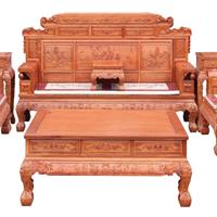 供应东阳誉福红木家具厂|财源滚滚沙发