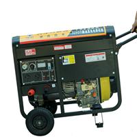 户外小型230A内燃发电电焊机