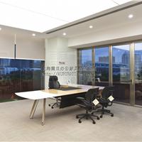 上海震旦现代简约老板桌,老板椅