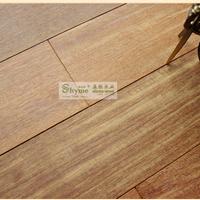 供应 重蚁木 紫檀 免漆 素板纯实木地板