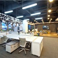 震旦办公屏风卡位钢制框架内置走线安全环保