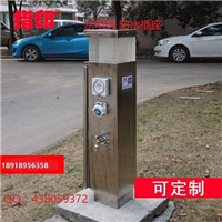 供应指印属地安装ZD1 水电箱 水电柜