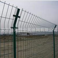 供应杭州公路双边围栏网/浸塑不生锈