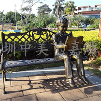 校园广场雕塑设计制作 校园主题雕塑价格