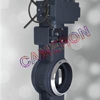 供应英国卡麦隆原装进口对焊式蝶阀