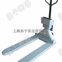 带轮子的叉车秤,轮式叉车电子秤,上海带秤的搬运车
