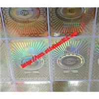 供应透明激光防伪商标,透明防伪标签