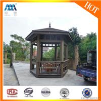 木塑凉亭,公园凉亭,恒塑生态木