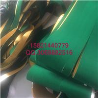 供应剪毛机绿绒布,验布机绿绒糙面带厂家