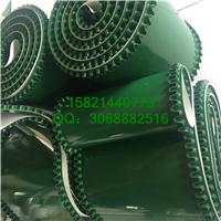 供应绿色裙边带,pvc裙边挡板输送带厂家
