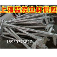 1米2米3米4米枪机球机镀锌钢管不锈钢立杆