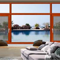 阳光艺术佛山供应135断桥窗纱一体平开窗