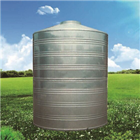 供应盐城雅洁不锈钢圆柱形水箱