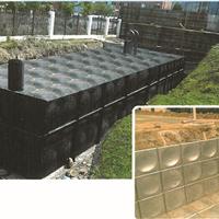 供应地埋式消防水箱二次供水设备给水设备
