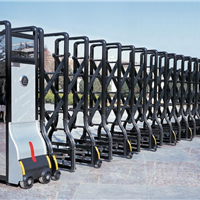 供应甘肃兰州电动伸缩门安装、调试、设计