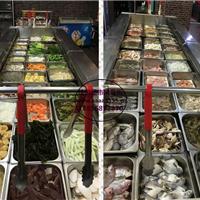 晋中韩式烤肉店冷藏柜 自助烧烤风冷展示柜