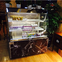 咖啡屋酸奶果汁保鲜柜郑州蛋糕房饮料冷藏柜
