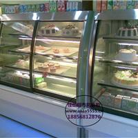 面包房展示冷藏柜日照酸奶吧保鲜柜定做价格