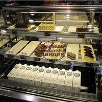 阜阳酸奶吧展示保鲜柜 蛋糕房低温奶冷藏柜