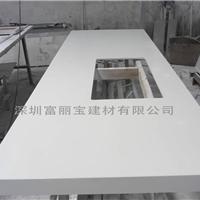 深圳石英石加工厂家白色石英石橱柜台面定制