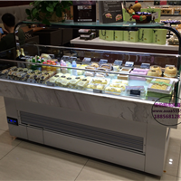 带置物架的三明治冷藏柜 滁州定做三文治柜