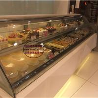 佳伯第五代圆弧蛋糕柜 欧式弧形两层慕斯柜