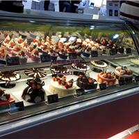 萍乡低温慕斯柜定做厂家双弧形后开门蛋糕柜