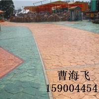 郑州压模地坪景观彩色路面