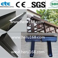 彩铝天沟雨水管/杭州厂家直销/材质多种