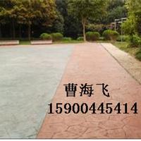 株洲彩色压模地坪,透水混凝土路面