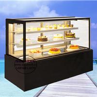 泰州三层直角蛋糕柜 1.2米日式后开门西点柜
