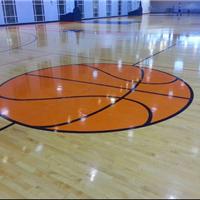 实木篮球场地板 实木运动木地板