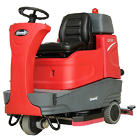 供应XD80驾驶式全自动双刷盘洗地机