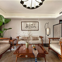 现代中式装修效果图丨重庆别墅装修设计推荐