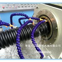 山东碳素螺旋波纹管生产线,PE碳素管设备
