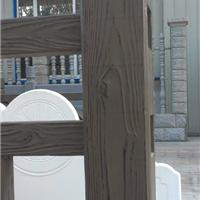 仿木栏杆模具-仿木廊架模具批发代理