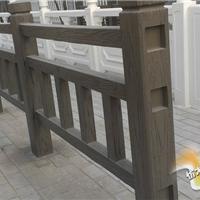 混凝土仿木护栏模具-圆富仿木栏杆模具厂商