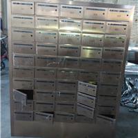 不锈钢信报箱制作厂家 铁信箱  欢迎定制