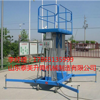 广元8米双柱铝合金升降机