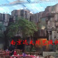 南京塑石、雕刻式假山