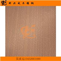 供应304不锈钢红古铜蚀刻彩色板厂家批发