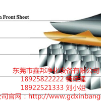 供应鑫邦纸蜂窝夹芯彩钢板(手工板)