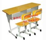 四川固定连排课桌椅|四川课桌椅定做厂家