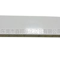 供应鑫邦防火岩棉彩钢夹芯板彩钢板