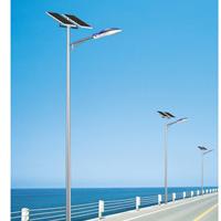 扬州弘旭照明厂家直销6米45W太阳能灯杆
