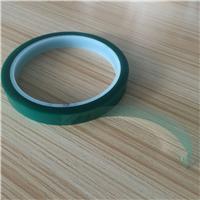 供应绿色喷涂硅胶带 绿色高温硅胶带