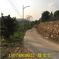 湘西道路灯厂家批发 湘西乡村路灯安装说明