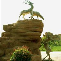 江西厂家假山景观雕塑 动物圆雕